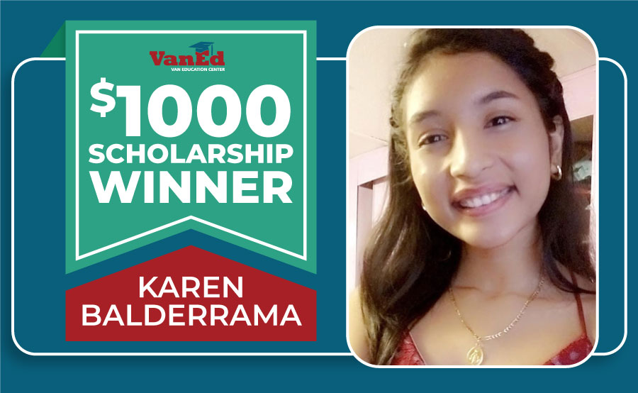 Congratulations to Our 2021-2022 VanEd Cares Scholarship Recipient