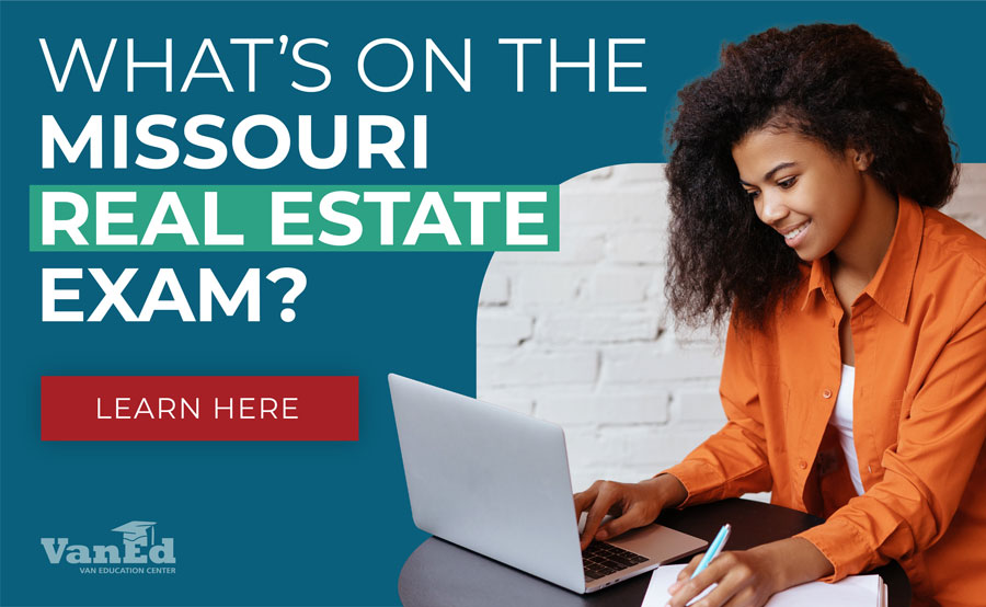 Missouri Real Estate Exam - Study Guide, Practice Questions, & Locations