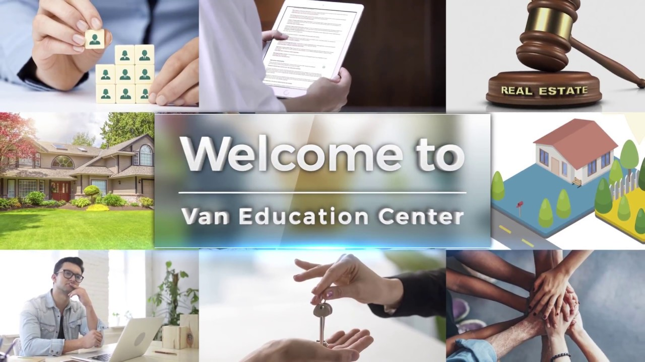 Welcome to VanEd - Online Real Estate School and Appraisal School
